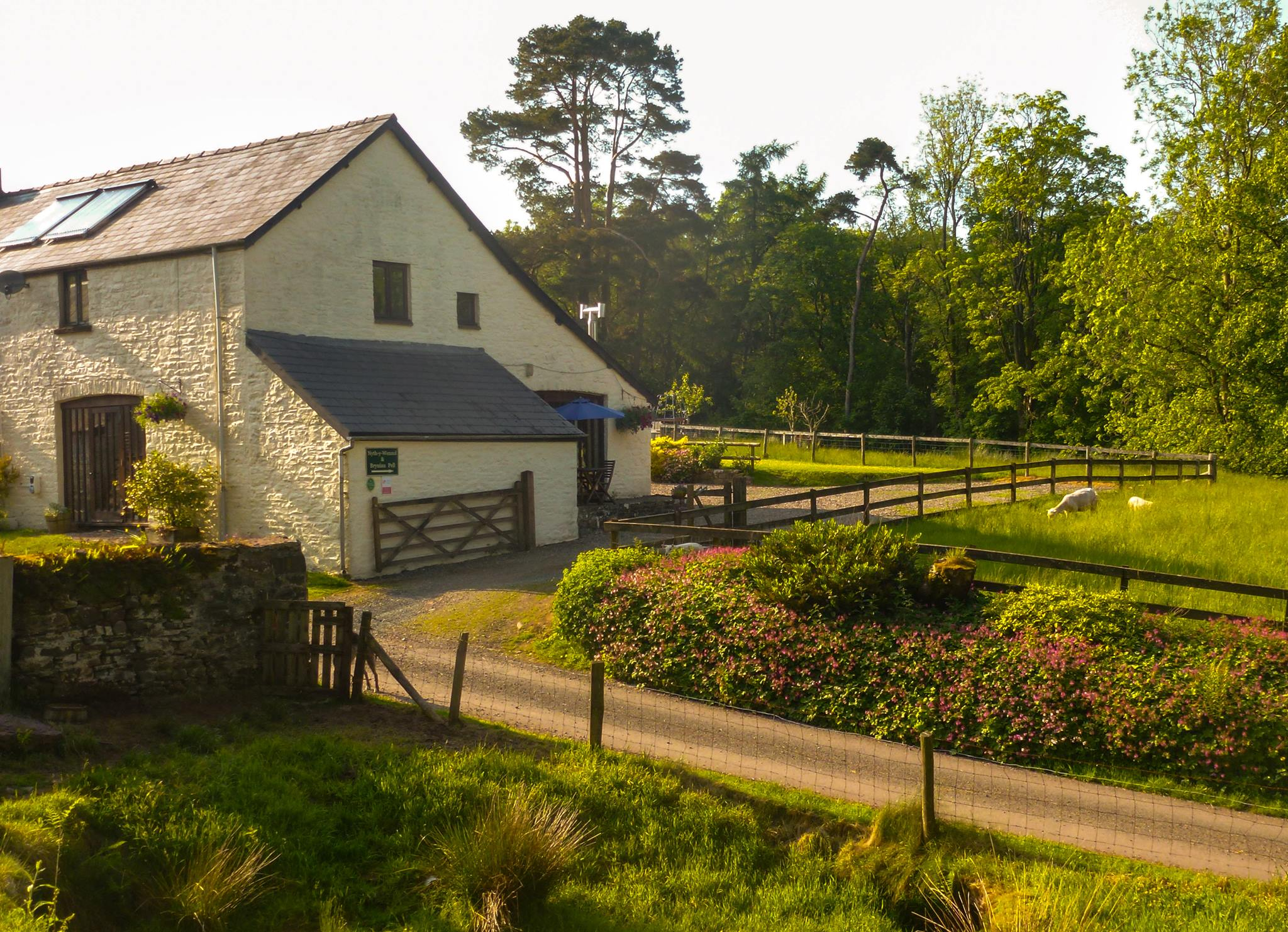 Aber Cottages in the Brecon Beacons