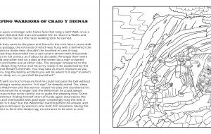 Legends of the Brecon Beacons Colouring Book