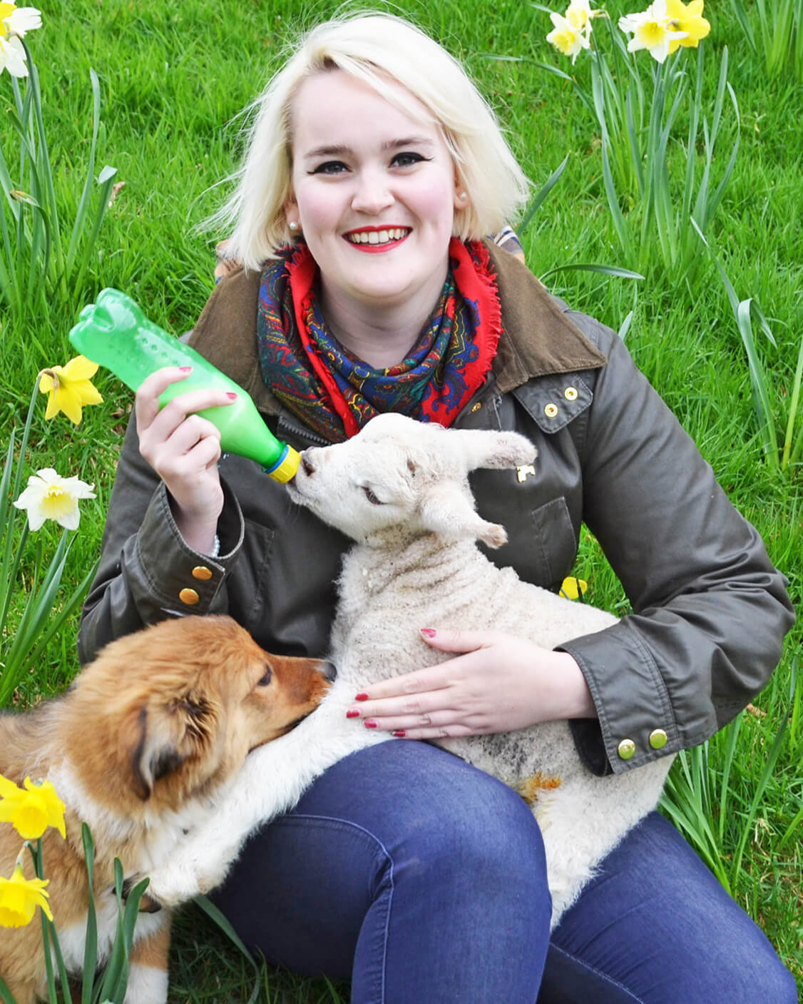 lambing experience day with gooddayout