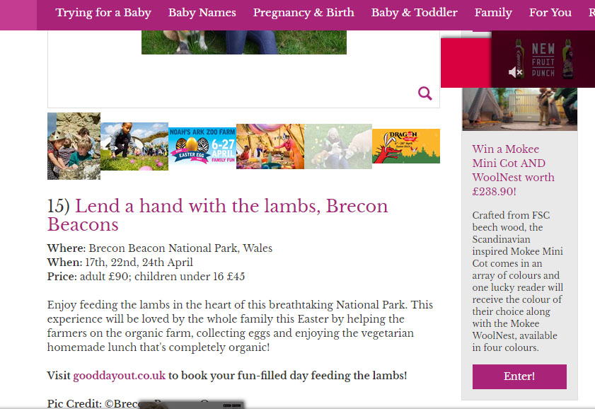 mother and baby online mag best easter family days out