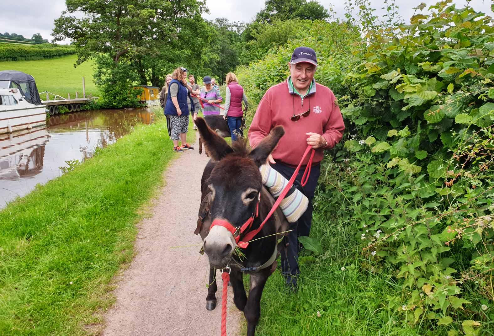 gareth edwards canal trip brecon