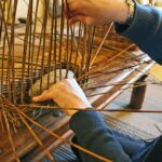 make a willow basket in the brecon beacons