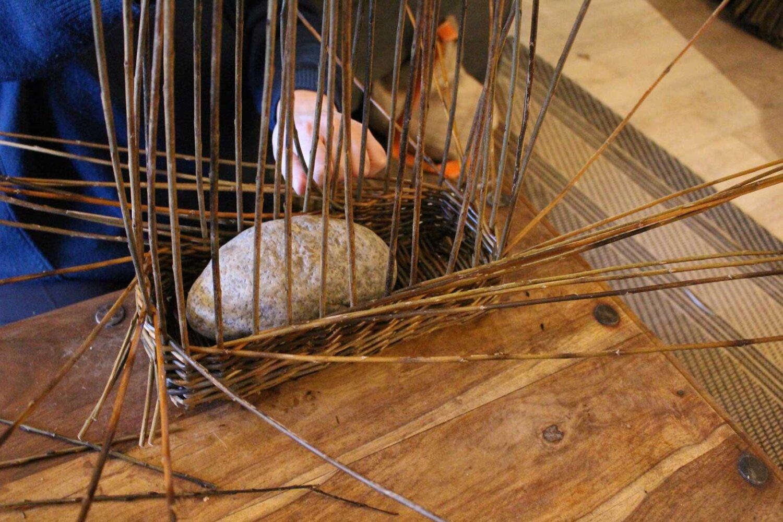 willow weaving workshop in wales