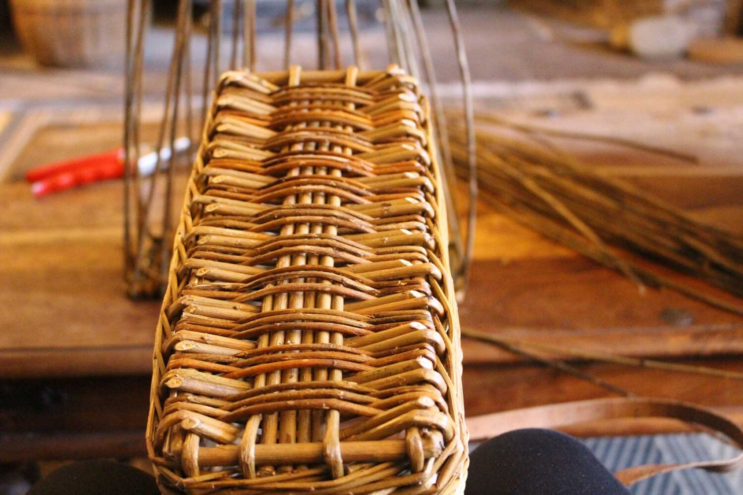 learn how to weave willow