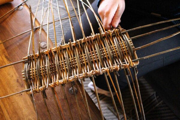 craft courses in the uk learn how to weave willow