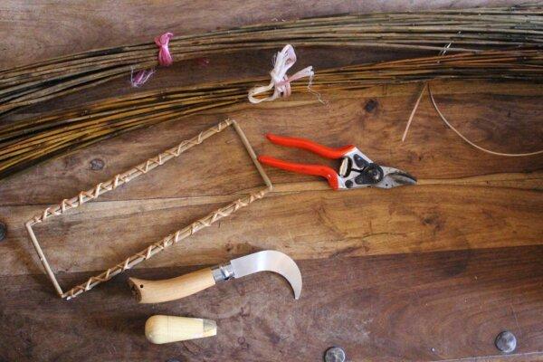 willow weaving equipment